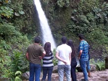 A visit of La Paz Waterfalls is a popular day trip from Alajuela.
