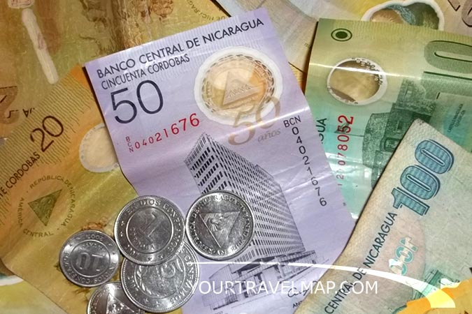 The Cordoba Is National Currency Of Nicaragua It Divided Into 100 Centavos