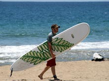 In Costa Rica you can surf on both coasts.