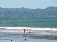 A breathtaking beach where you can enjoy long walks.