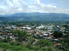 The view over Turrialba.