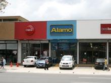 Die Alamo Niederlassung am Paseo Colon, San Jose.