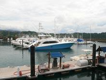 Der Sportboothafen Marina Los Suenos ist ein beliebter Ausgangspunkt zum Hochseeangeln.