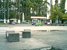 Die Uferpromenade mit dem dahinterliegendem Parque Vargas.