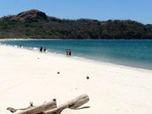 Der weisse Sand von Playa Conchal und das türkise Wasser machen diesen Küstenabschnitt zu einem wahren Traum für jeden Strandliebhaber.