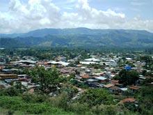 Der Blick auf Turrialba.