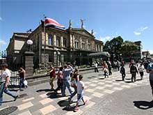 Das Teatro Nacional am Plaza de la Cultura.