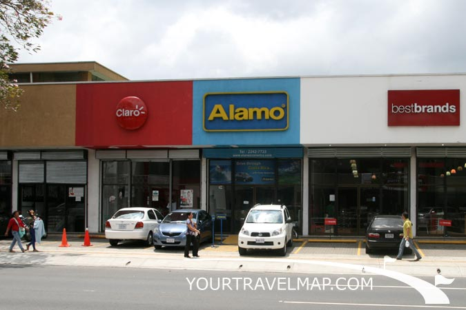 Alamo car rental costa rica airport 17