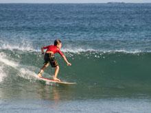 Costa Rica es un destino para surfear durante todo el año.