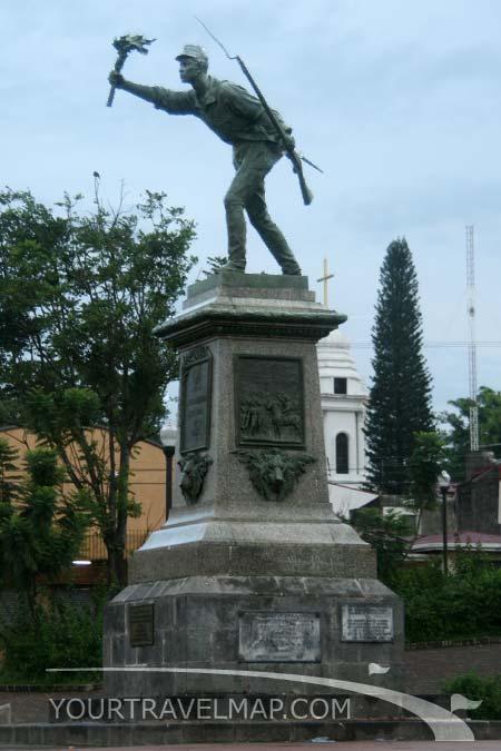 mi linda Costa Rica... Juan-santamaria