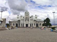 La Basílica de Nuestra Señora de los Ángeles.