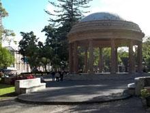 El Parque Morazán, en el pleno centro de San José.